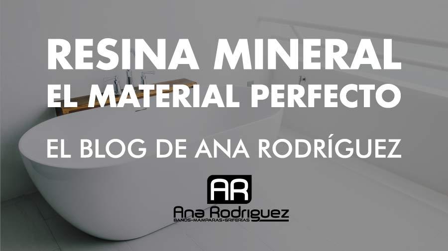 En este momento estás viendo La resina mineral, un material perfecto para tu cuarto de baño
