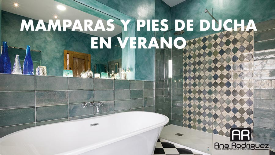 Verano una buena época para reformar tu baño y elegir la correcta mampara para tu ducha